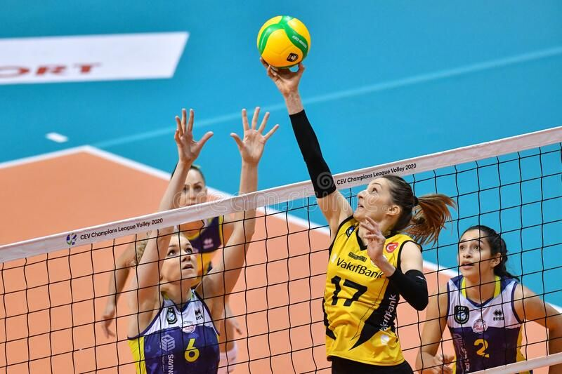 Champions League Volleyball - Vakifbank S K Turkish Women ...