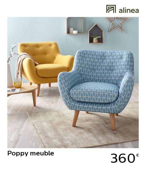 Alinea Poppy Meuble Fauteuil Esprit Scandinave Jaune Moutarde Canapes Fauteuils Fauteuils Living Room Designs Yellow Decor Interior Design Living Room