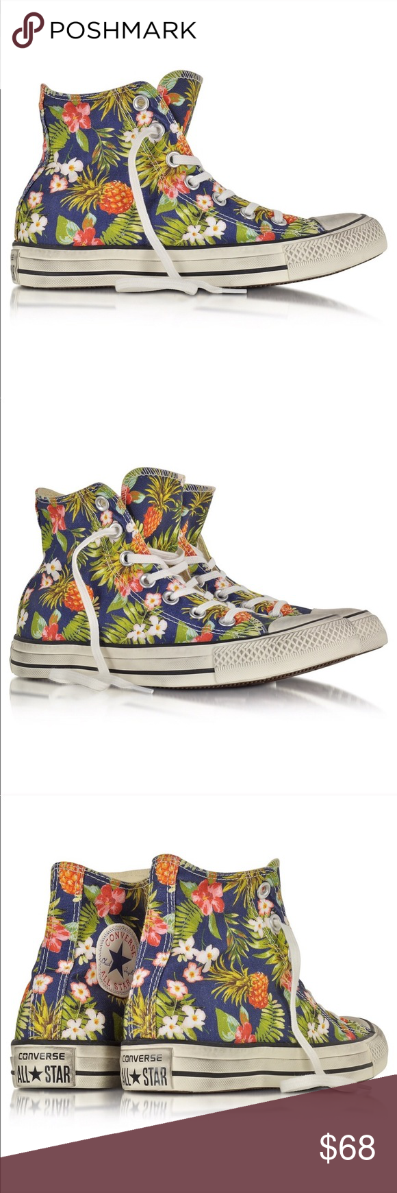2243208535bb79 Converse All Star Canvas Pineapple Print Sneaker - LIMITED EDITION - Unisex  Shoe - Men s 11
