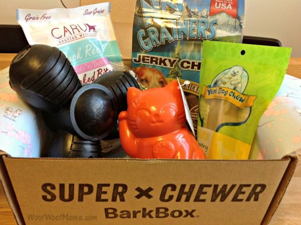 Super Chewer Barkbox Dog Subscription Box For Toy Destroyers March