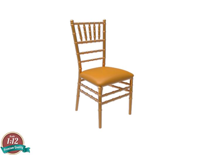 Miniature Chiavari Chair Giuseppe Gaetano By Sensaiku On Shapeways Chiavari Chairs Chair Chair Design