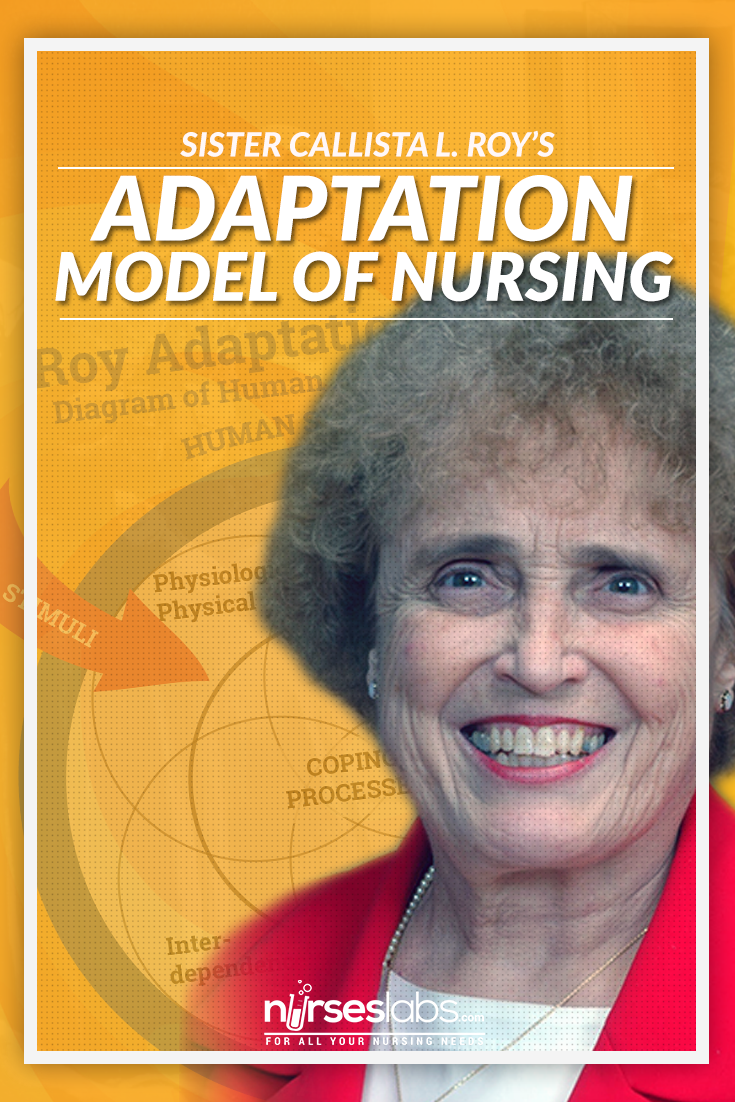 roy adaptation theory 1998-ducharme et al described a longitudinal model of psychosocial determinants of adaptation  1998-levesque et al presented a mrt of psychological adaptation  1999-a mrnt , the urine control theory by jirovec et al  dunn, hc and dunn, d g (1997) the roy adaptation model and its application to clinical nursing practice.