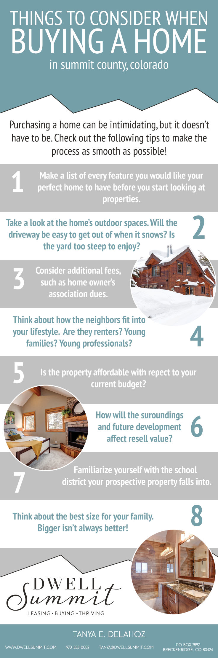 Things To Consider When Buying A Home In Summit County Colorado