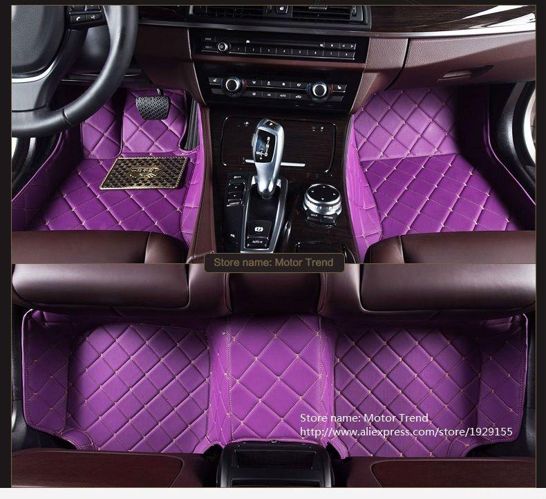 Custom Made Car Floor Mats Special For Infiniti Q50 G25 G35 G37 Qx70