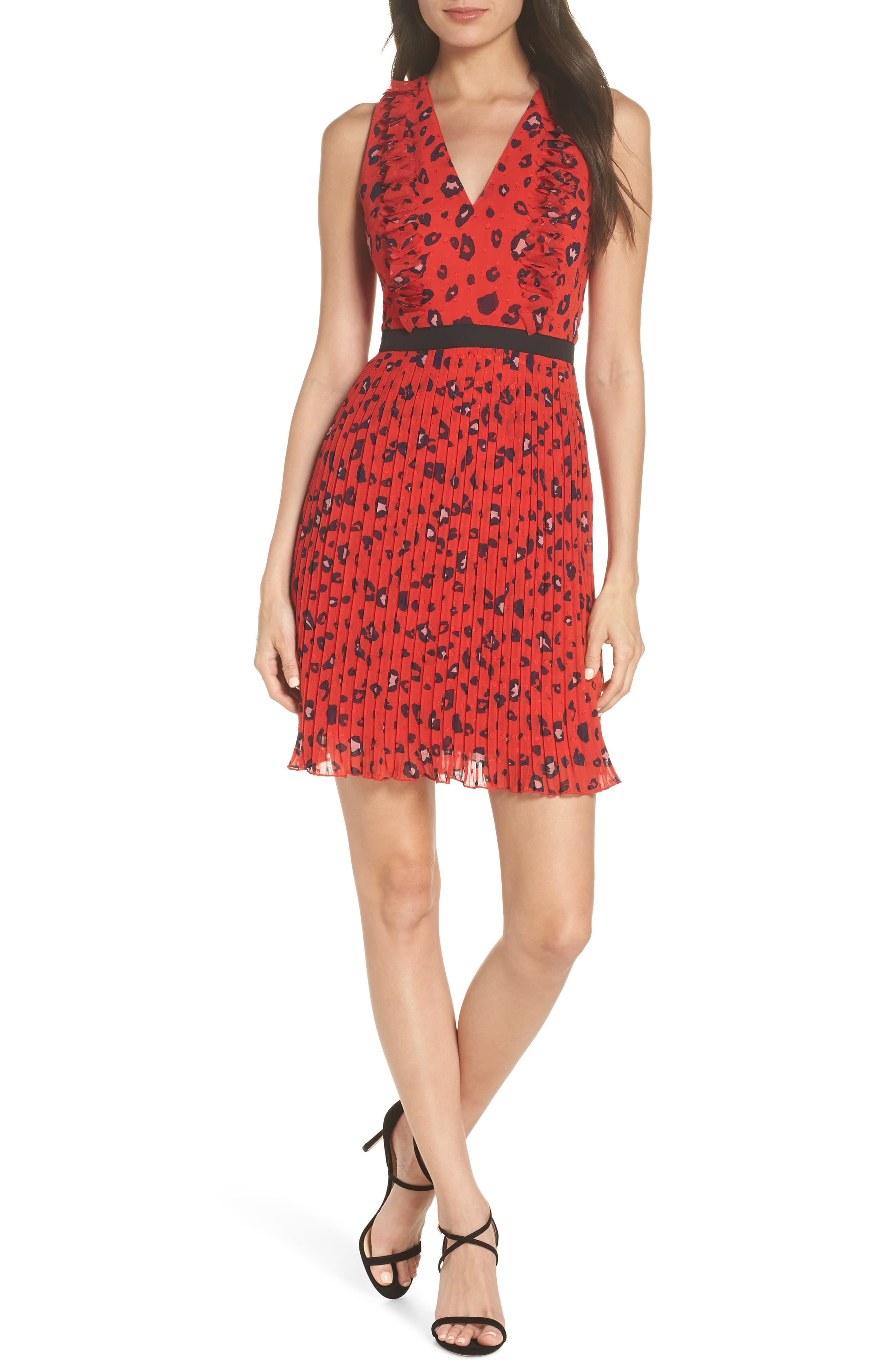 Foxiedox Sassa 3d Fil Coupe Party Dress Nordstrom Dresses Fashion Clothes Women Red Cocktail Dress [ 4048 x 2640 Pixel ]