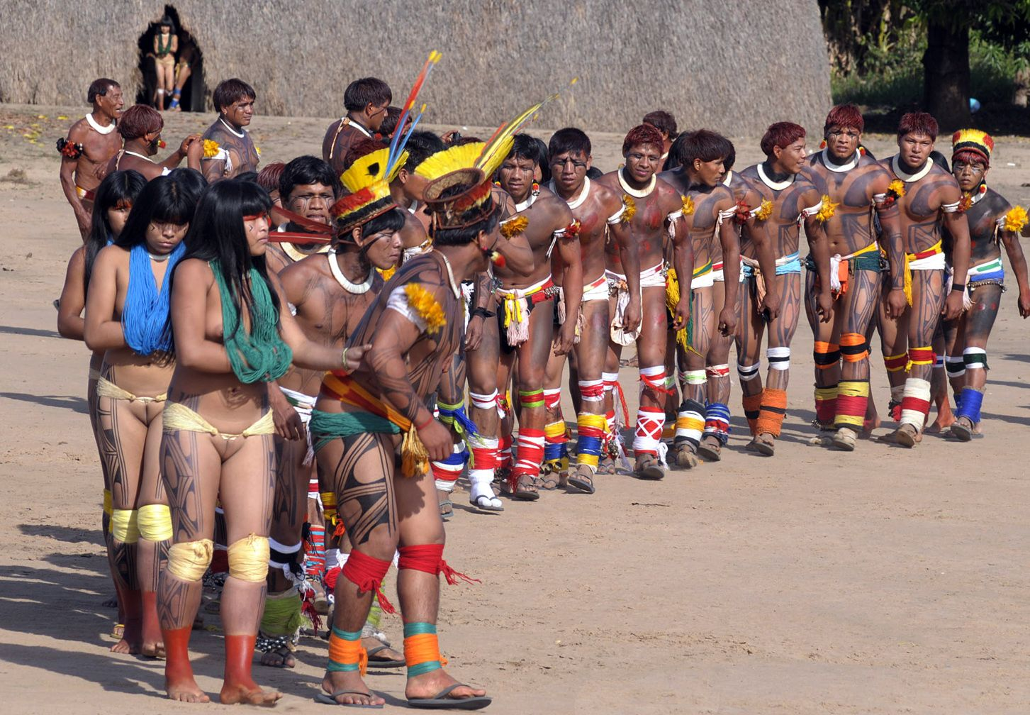 xingu women Xingu tribe in Brazil: