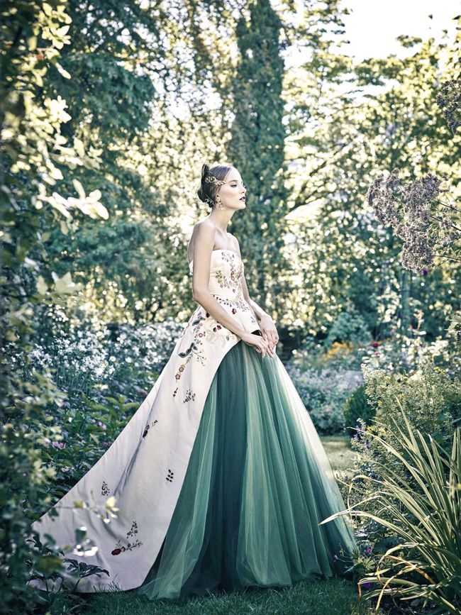 Modern Classic Gown From Monique Lhuillier Infused With