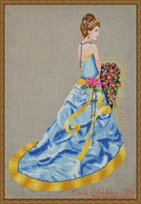 Milady Of Summer - Cross Stitch Pattern