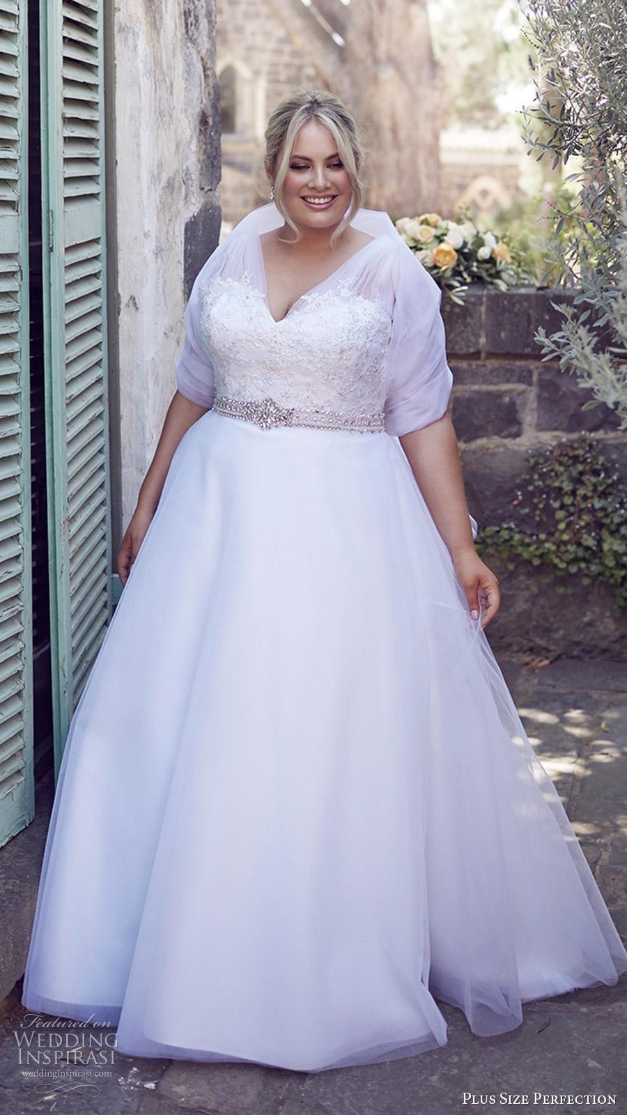2016 Plus Size Wedding Dresses For Full Figured Elegant