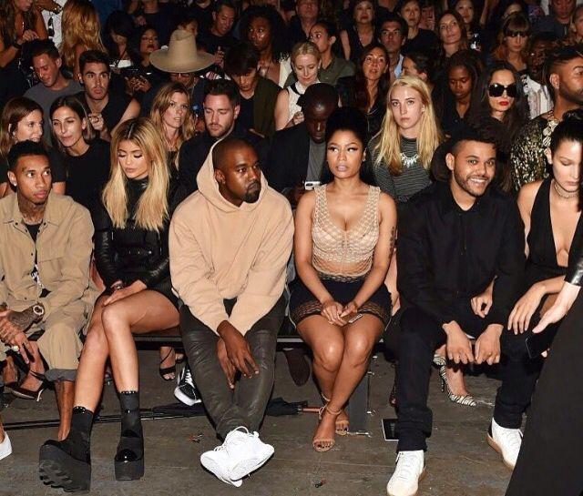 Tyga Kylie Jenner Kanye West Nicki Minaj The Weeknd Fashion Kanye West Kylie Jenner