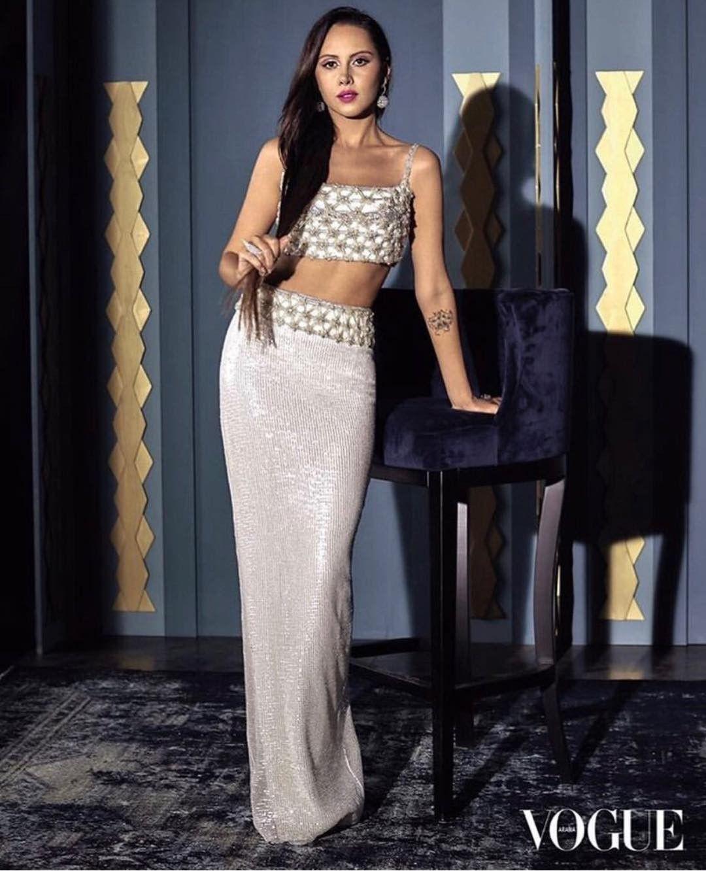 Yasmin Raeis For Vouge Egyptian Actress Yasmin Fashion