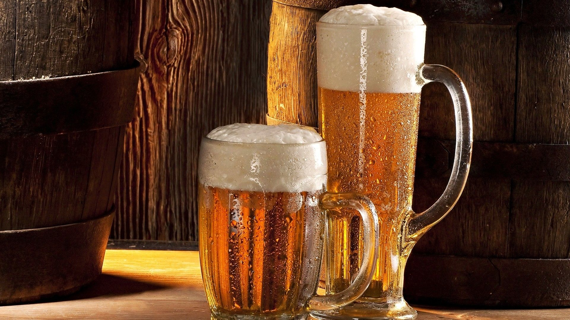 Beer Glasses Two Hd Wallpaper Is An Hd Wallpaper Posted In