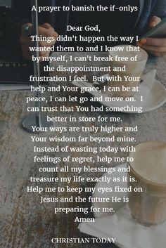 exactly what I needed   trusting god   Faith prayer, Prayers