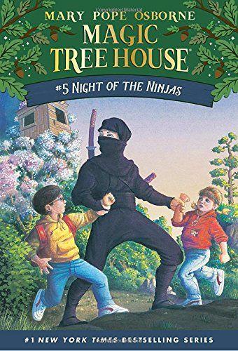 Night Of The Ninjas Magic Tree House No 5 By Mary Pop Https Www Amazon Com Dp 0679863710 Ref Cm Sw R Magic Tree House Books Magic Treehouse Tree House