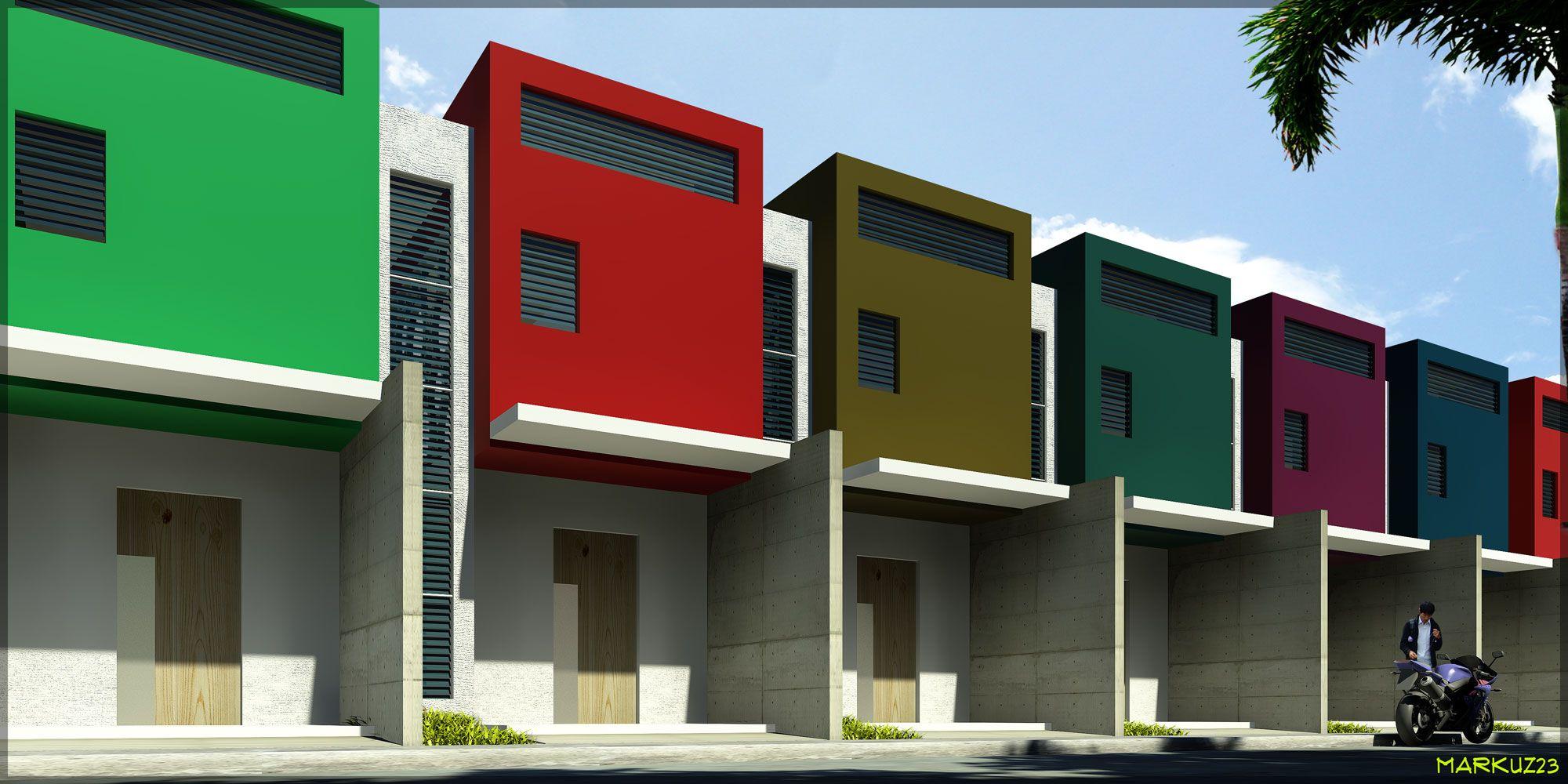 Row House Markuz23 House Plans South Africa Row House Design Architect House