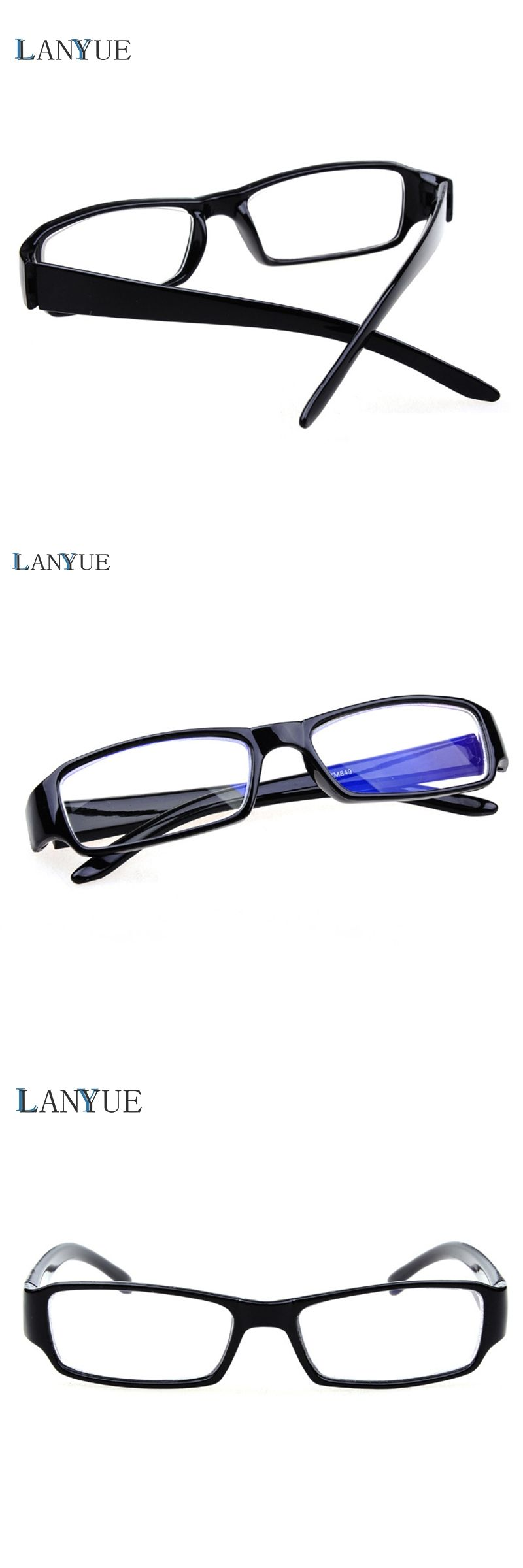 f7296c685b9 simple Myopia nearsighted Glasses Frame With Degree Lenses Diopter Eyeglasses  optical eyewear -100 to -