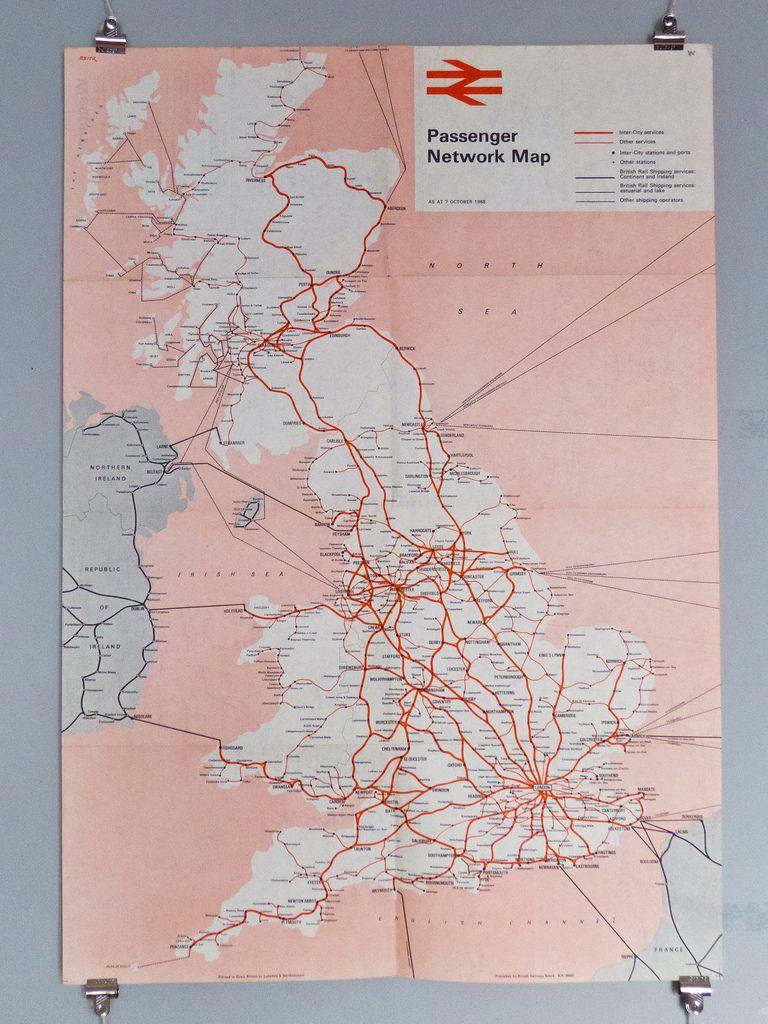 Britishrailwaysonwankenfeb GRAFIKDESIGN - Railway map usa 1890