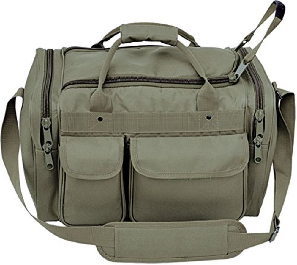 Large Deluxe Police Shooter Tactical Range bag extra heavy