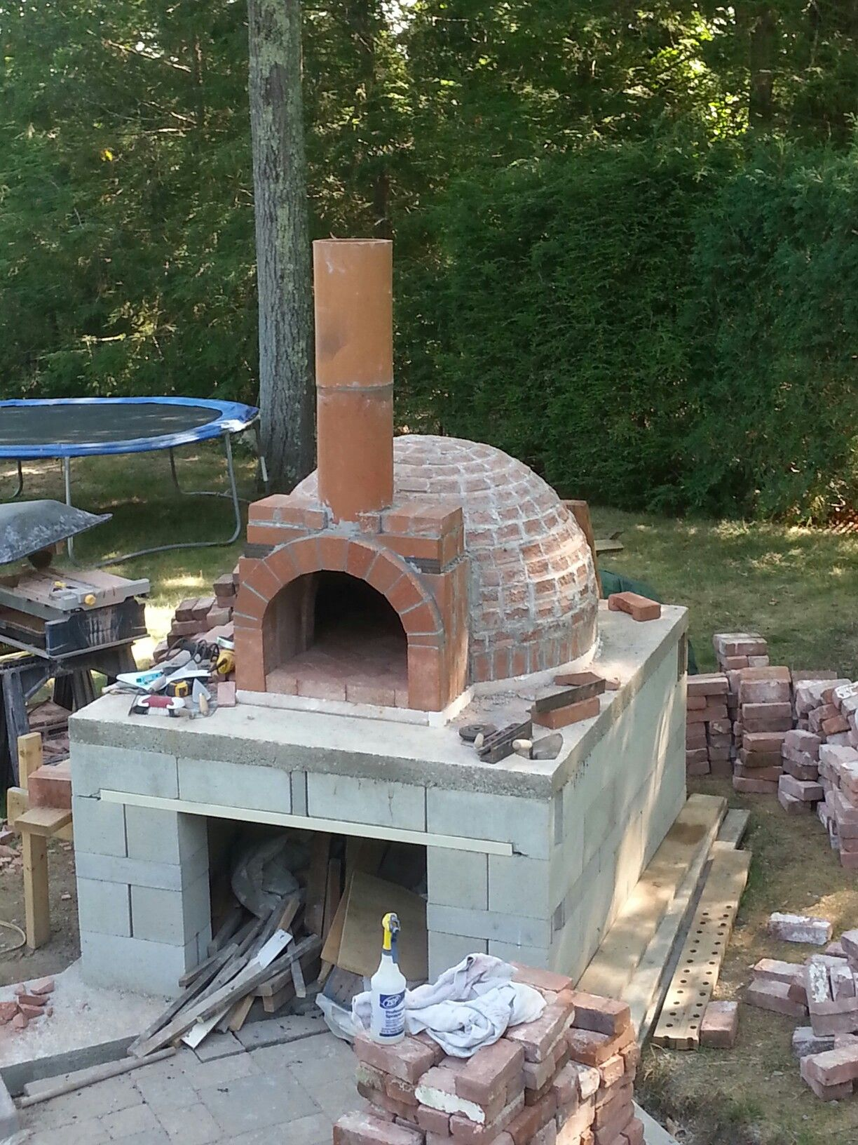 Add The Chimney And Entrance Outdoor Pizza Pizza Oven Outdoor
