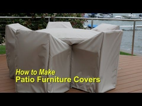 How To Make Patio Furniture Covers Patio Furniture Covers Diy Patio Furniture Diy Outdoor Furniture