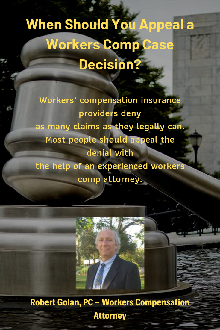 When Should You Appeal Workers Comp Cases Queens, NY in