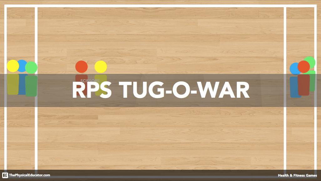 Rock Paper Scissors TugOWar Standardsbased PE Games