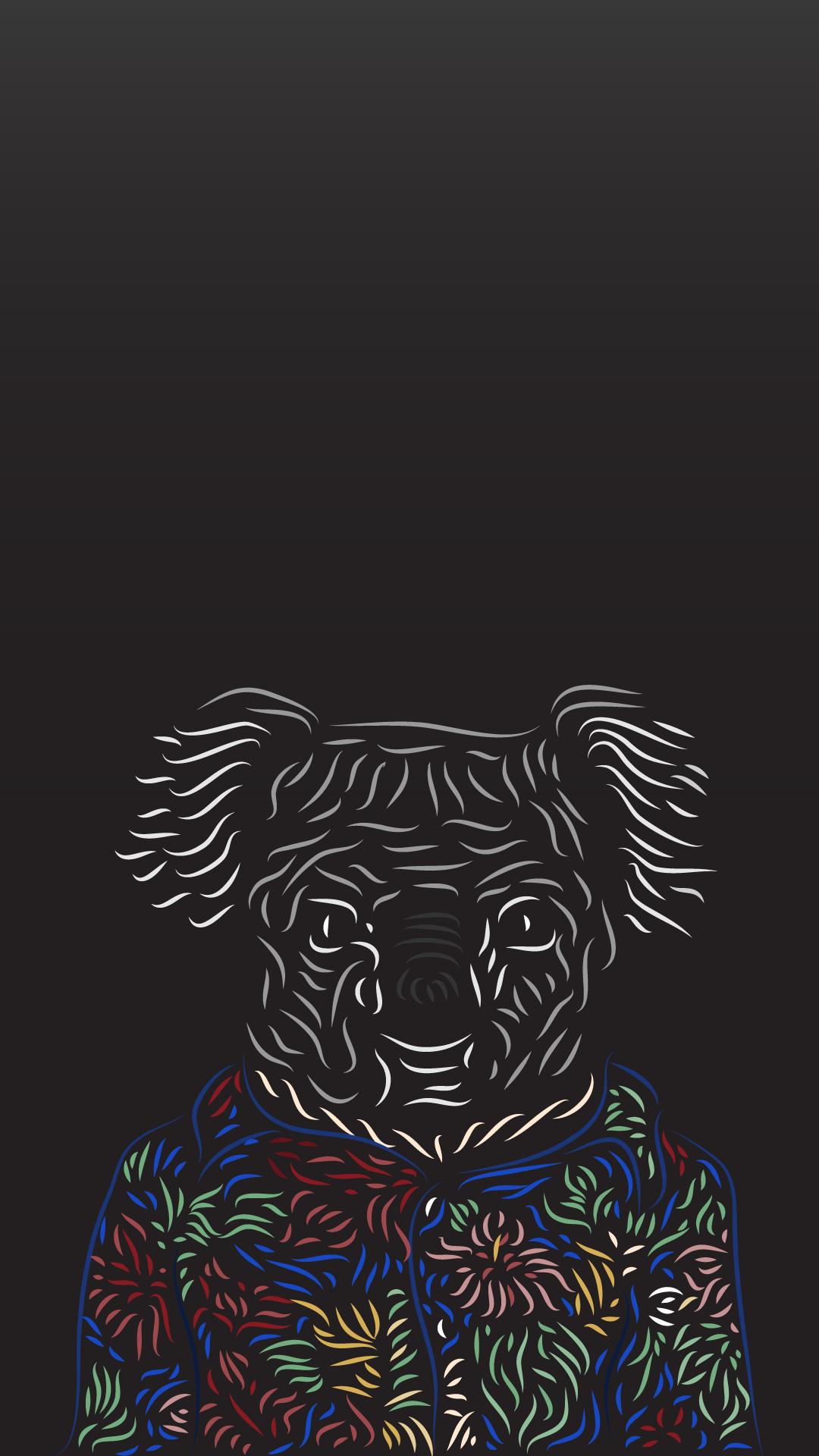 Download Wallpaper Koala Cartoon - f02cb6b1c1d3d5b201bf2ac444d4b921  Picture_431142   .png