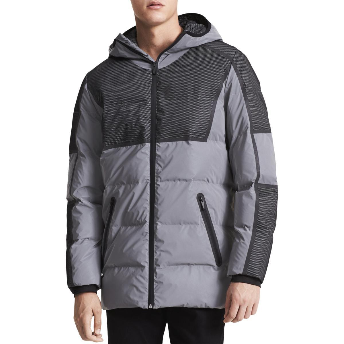 Calvin Klein Calvin Klein Mens Reflective Winter Puffer Coat Calvinklein Cloth Mens Jackets Calvin Klein Men Winter Puffer Coat [ 1200 x 1200 Pixel ]