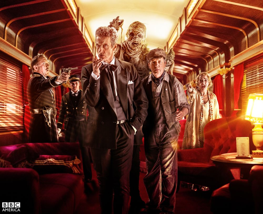 Doctor Who series 8 episode 8 'Mummy on the Orient Express'