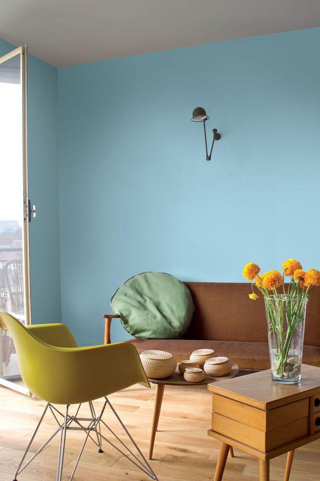 peinture couleur 14 teintes tendance pour tout relooker - Tendance Couleur Peinture Salon