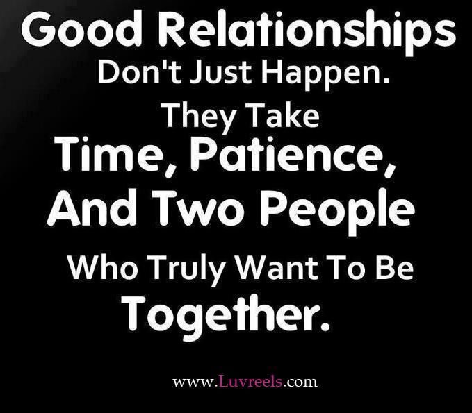 it doesn\'t happen overnight! | Relationship quotes, Best ...
