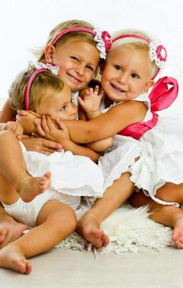Vestidos blancos con lazo rosa by yaya