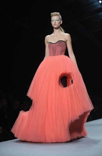 Viktor & Rolf at Paris fashion week