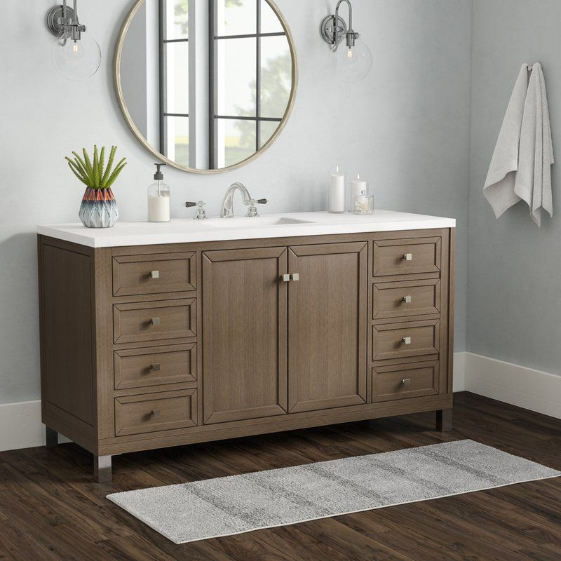 56 Inch Bathroom All Bathroom Vanities Wayfair With Images Single Bathroom Vanity Bathroom Vanity Double Vanity Bathroom