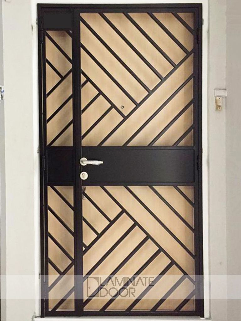 Hdb Mild Steel Gate Install Hdb Gate In Singapore At Factory Price Steel Door Design Metal Doors Design Metal Gates Design