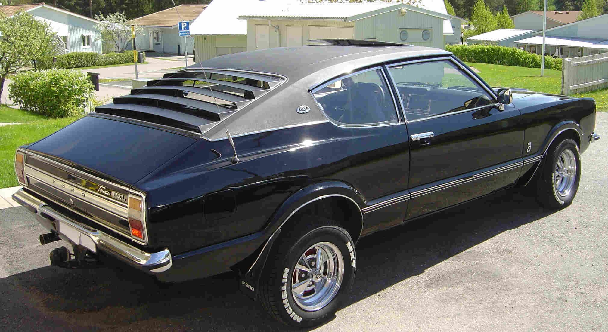 Ford Taunus Coupe 31 1970s