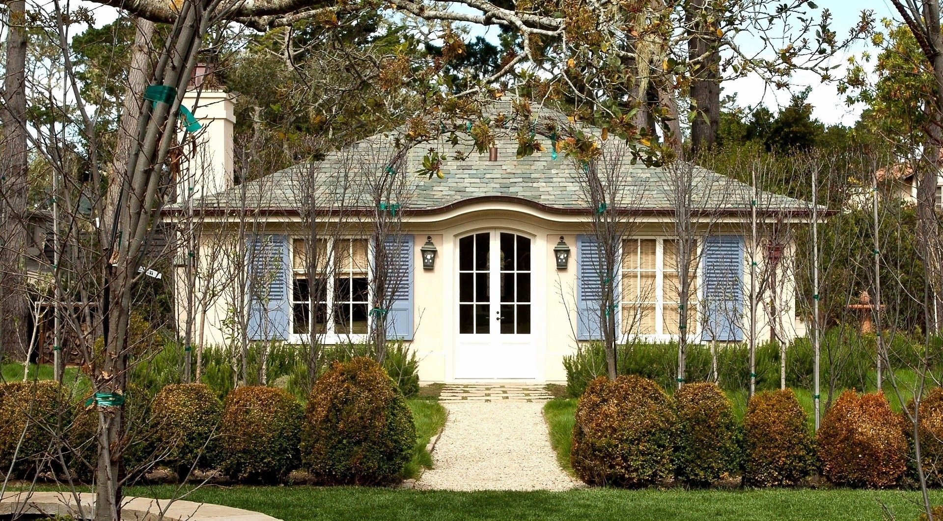 Tiny Home Designs: Small French Country Cottage House Plans Elegant Stone