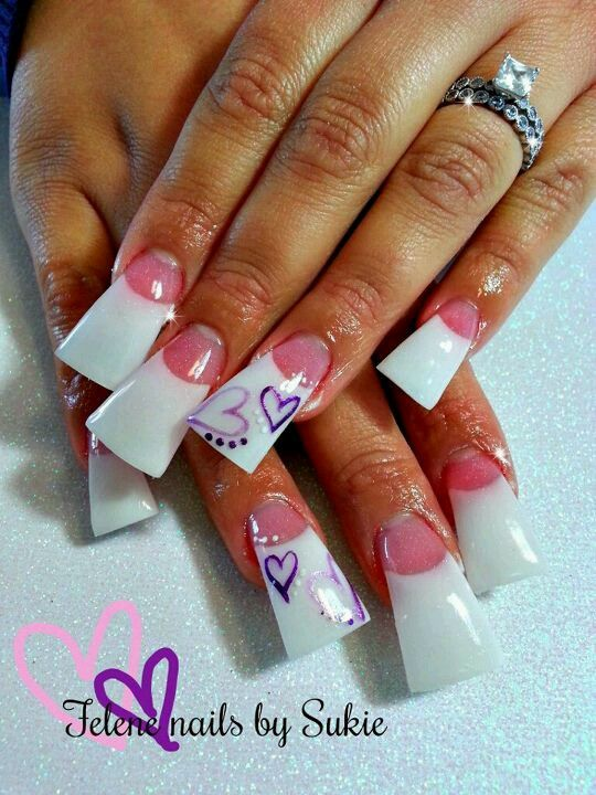 Pin By Juanita Cruz On Super Long Nails Flare Nails Duck Nails Duck Feet Nails