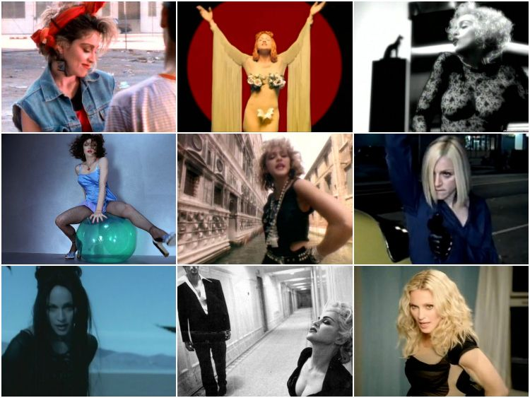 Look around you, the Queen of Pop has done it all. Here, a list of her most influential videos.