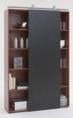 modern sliding door bookcase yes contemporary bookcases cabinets rh pinterest com