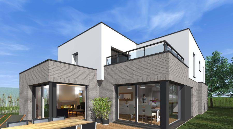 Résultat de recherche d\u0027images pour \ - Idee Facade Maison Moderne
