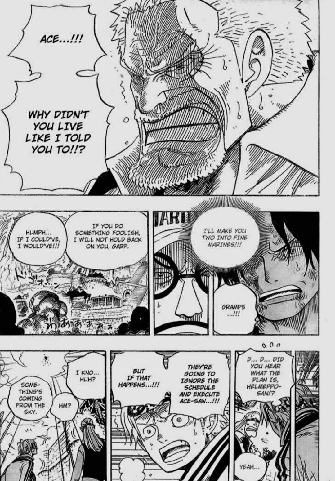 Pin By Niji On Manga Screenshots One Piece Manga One Piece Chapter One Piece Anime