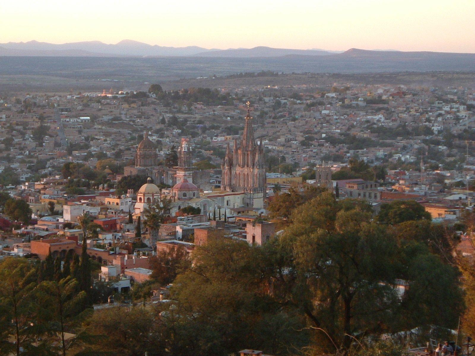 Vista panorâmica de São Miguel de Allende, estado de Guanajuato, México. Fotografia: Ruiz.