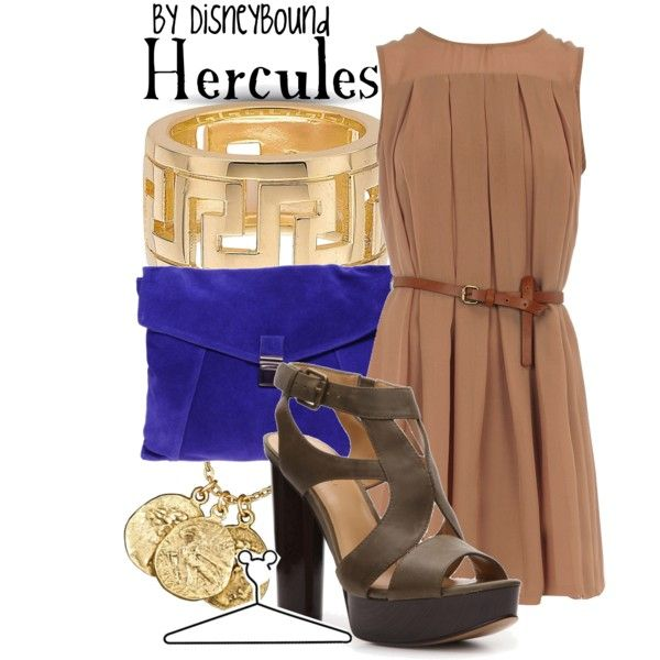 Hercules, created by lalakay on Polyvore