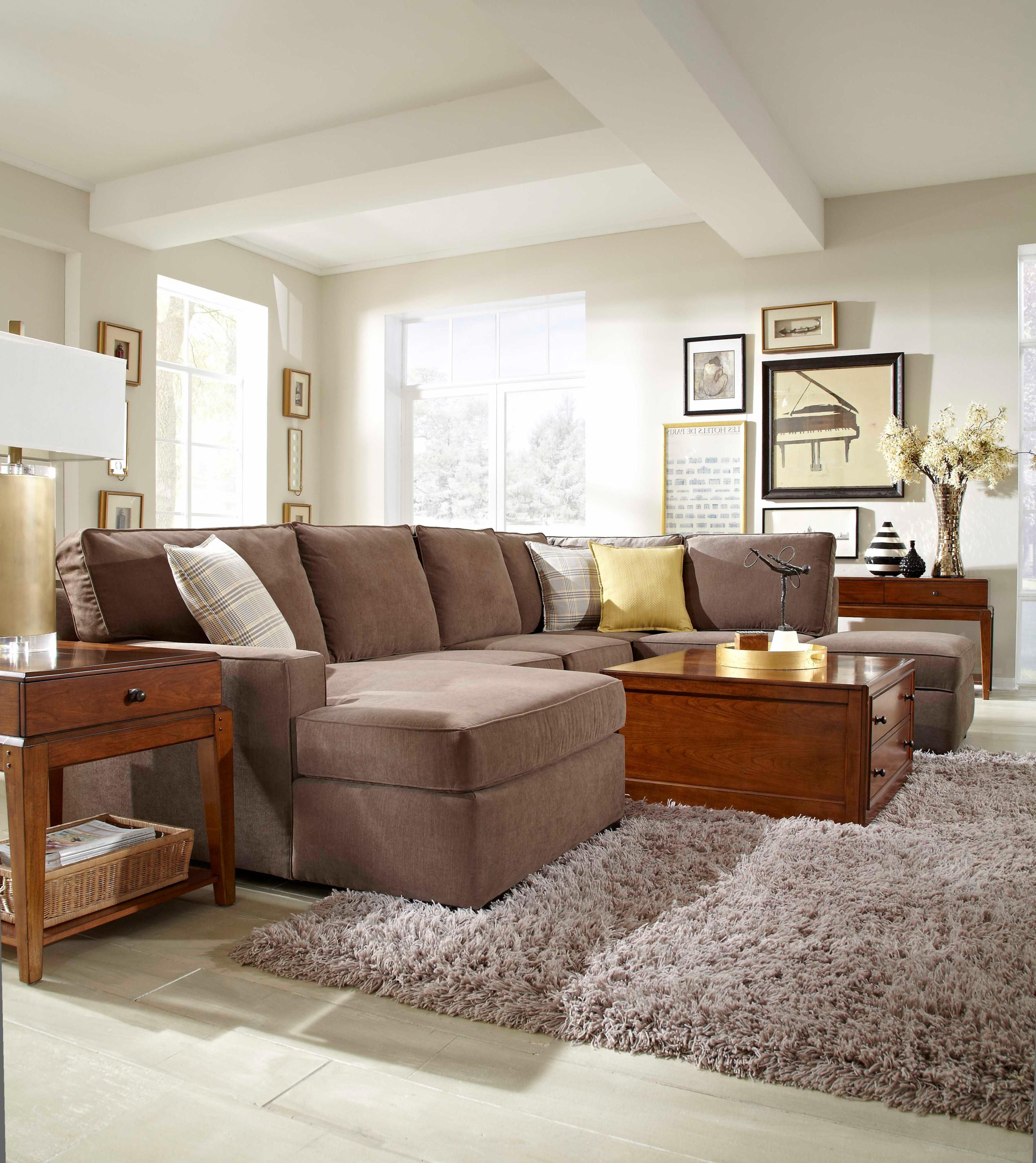 Broyhill Furniture Raphael Contemporary Sectional Sofa
