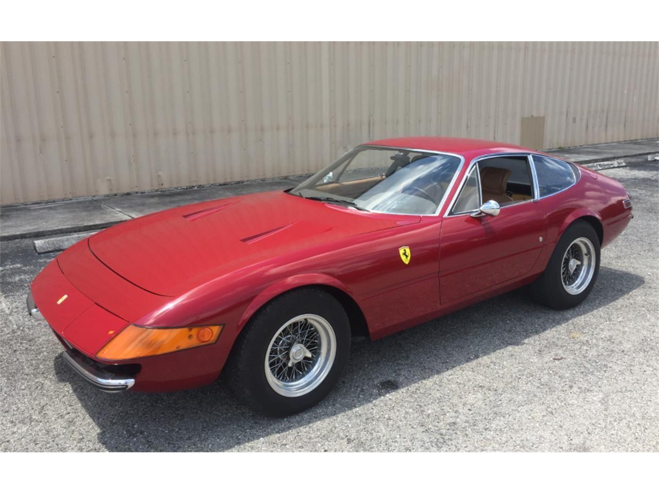 1972 Ferrari 365 GTB 1 of only 1274 produced Ferrari car