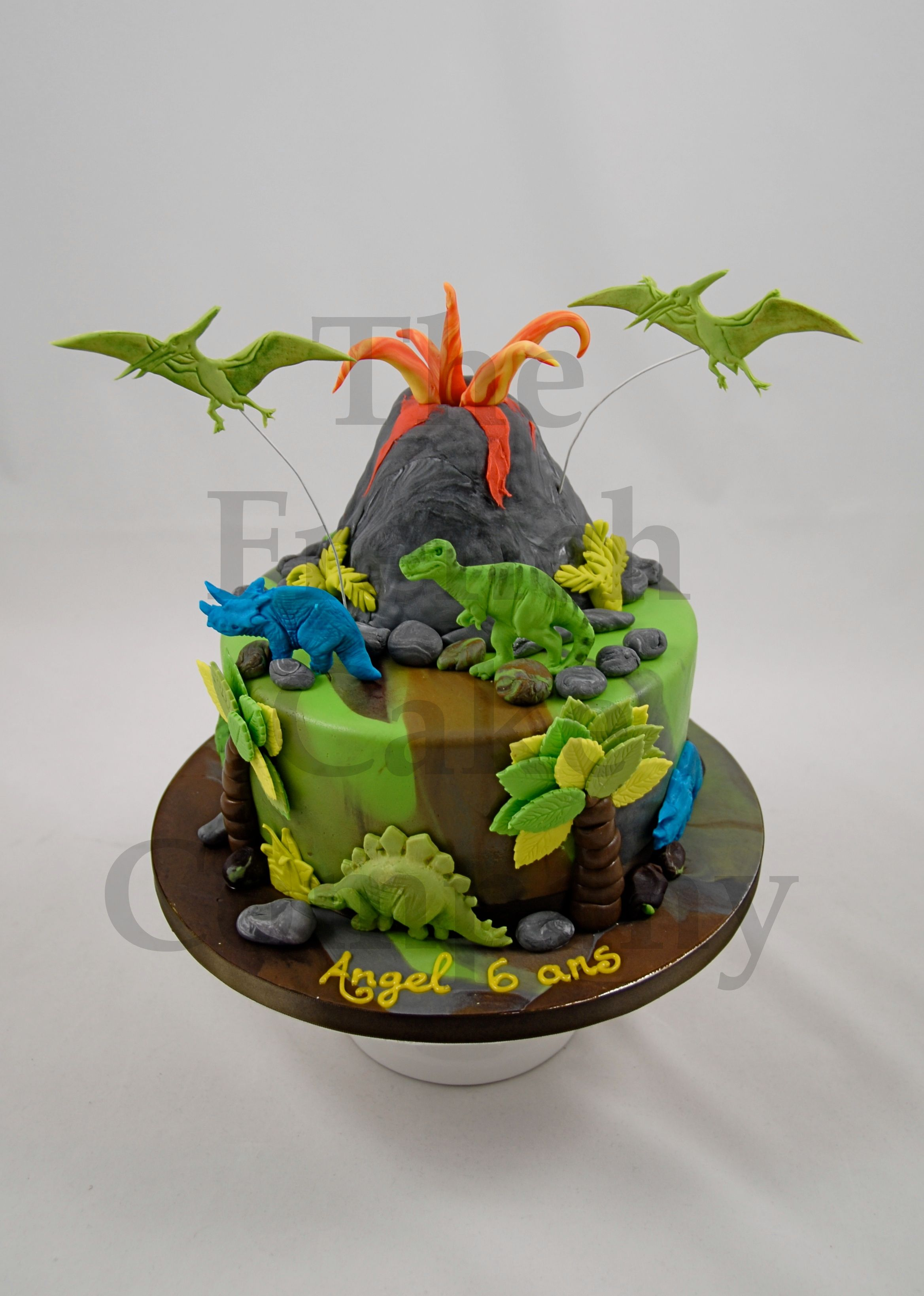 cake for boys dinosaur gateau d 39 anniversaire pour enfants garcon dinosaure verjaardagstaart. Black Bedroom Furniture Sets. Home Design Ideas