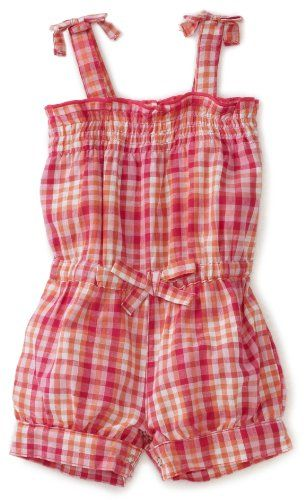 Carters Baby-Girls Infant Plaid Romper