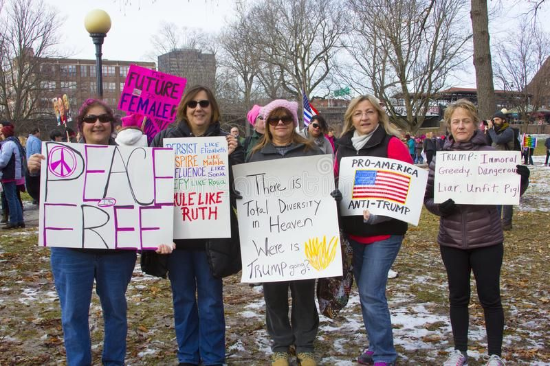 Hartford Women S March 2018 The Women S March In Hartford Ct That Was Held On Aff Ct March Hartfor Image Photography Hartford Editorial Photography