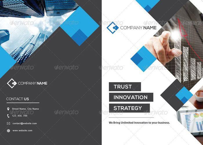 Modern Corporate Brochure brochure Pinterest Corporate